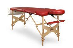 Składany stół do masażu – Drewniany GJD