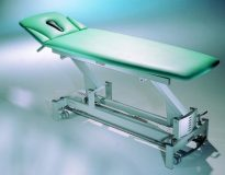 2-sekcyjny stół do masażu z podłokietnikami