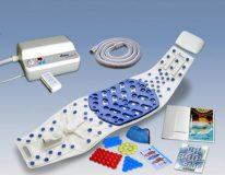 Mata do masażu wibracyjnego pleców z podgrzewaniem i adapterem