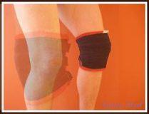 Stabilizator stawu kolana – z wkładami magnetycznymi na rzep