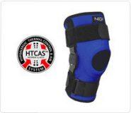 Lekki stabilizator stawu kolanowego z zawiasami