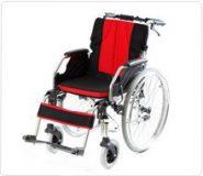 Wózek inwalidzki stalowo – aluminowy