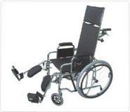 Wózek inwalidzki stabilizujący plecy i głowę